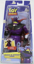 "CHASE 'N' ATTACK ZURG Toy Story Movie 7"" inch Pull Back Figure 2009"