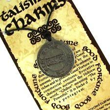 Talisman of Good Fortune Pewter Pendant #HC-T303