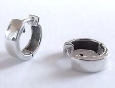 Creolen Scharniercreolen Ohrringe Echt Silber 925 Klappcreolen Kreolen 1 Paar