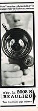 PUBLICITE ADVERTISING   1965    BEAULIEU  caméra 2008 S