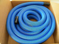 Carpet Cleaning - Blue 50' (Crush Proof) Vacuum Hose 1 1/2""