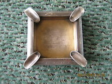 Nice,vintage solid 875 silver Soviet ashtray from 50y of XXc,70 grams,not scrap