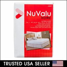 Mattress Cover (Queen Size) Fitted Plastic Bed Protector Anti Bed Bug Allergy