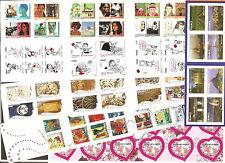 FRANCE Les 11 CARNETS Auto Adhésifs de l'ANNEE 2009 NEUFS NON Pliés** LUXE