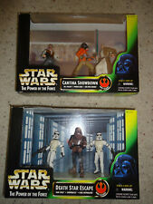 Star Wars The Power of the Force Cantina Showdown / Death Star Escape - New Nib