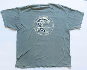 Vintage O'neill Shirt Men's XL Green Short Sleeve Santa Cruz Surf Shop VTG Tee