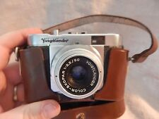 Vintage Voigtlander Vito B 35mm Camera with Case