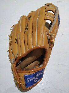 Spalding Ultima Baseball Glove Mitt Right Hand Leather Performance Series Deep