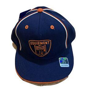 Rebook NFL Equipment Denver Broncos Hat Cap Fitted Size 7 7/8 New NFL