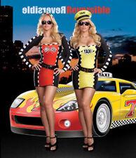 Morris Costumes Women's Race Car Driver Me Crazy Reversible Costume L. RL5866LG