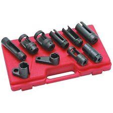 10 Pcs Sensor Oil Pressure Sending Unit Socket Set Oxygen Injector Tool P595151