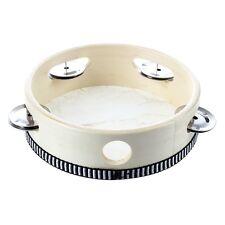 """6"""" Musical Tambourine Tamborine Drum Round Percussion for KTV Party CSMT"""