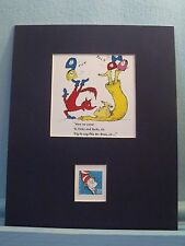 Fox in Socks Book by Doctor Seuss & the Cat in the Hat stamp