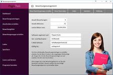 Bewerbungssoftware, einfach und professionell   mit vorhandenen Designs