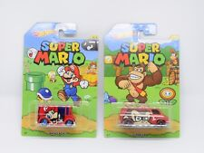 Nintendo Super Mario Hot Wheels - Mario Bread Box, Donkey Kong Super van