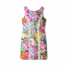 LILLY PULITZER for Target Nosey Posie Sleeveless Shift Mini Dress Pink - SIZE 4
