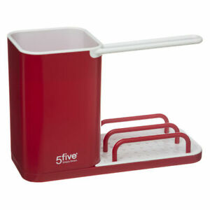 Red Sink Tidy Sink Caddy Organiser by  5five - Simply Smart