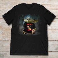 Baby Groot hug Guitar Bon Jovi shirt funny cute gift fan music tshirt size S-5XL