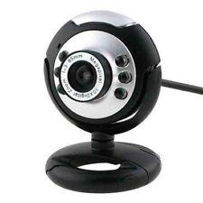 12 Megapixel Webcam Built-in Microphone 360° Rotatable Base LED Illumination