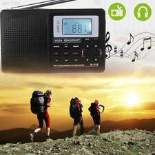 6B4F Digital Display Stereo MW SW Radio FM Shortwave Multi Band Receiver HRD-106