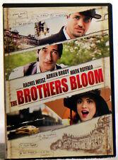 The Brothers Bloom (DVD, 2010) Adrien Brody, Mark Ruffalo, Rachel Weisz