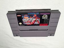 Bill Lambeer's Combat Basketball (Super Nintendo SNES) Game Cartridge Excellent!