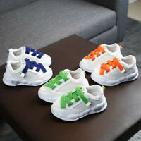 Toddler Infant Kids Baby Girl Boys Soft Sole Mesh Running Sport Shoes Sneakers