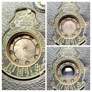 KODAK VEST POCKET NO.A 127 Folding Bellows Camera  & Case