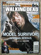 The Walking Dead Official Magazine #9 Summer 2014 NORMAN REEDUS Michael Cudlitz