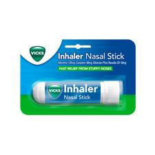 Vicks Inhaler Standard Nasal Stick Get Rid Of Unwanted Cold Like Symptoms