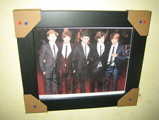 One Direction Excellent Signed Photograph (10x8) Limited Edition 3/150 {Framed}