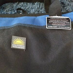 California Innovations Insulated Cooler Collapsible Tote Bag  (40 Cans) NWT.