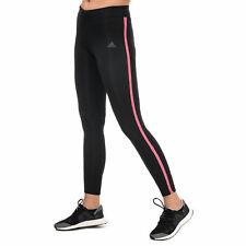 Женские Adidas Response длинные бега колготки в черном/Super розовый