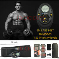 EMS Muscle Training Gear ABS Belt Abdominal Professional Body Exercise Fitness