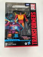 Transformers Studio Series 86 Voyager Transformers: The Movie Hot Rod New In Box