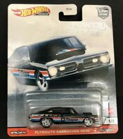2020 Hot Wheels Car Culture POWER TRIP 1/5 PLYMOUTH BARRACUDA HEMI -Real Riders