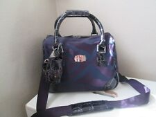 JASPER CONRAN AT TRIPP PURPLE MIX HOLDALL WEEKEND BAG CROSSBODY SPORTS BAG GYM