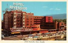 RENO NV 1966 Long Closed Riverside Hotel & Casino now an Apartment Building 543