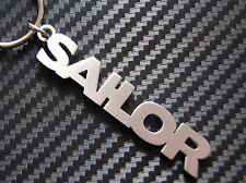 SAILOR Sailing Seaman Seafarer Mariner Boat Ship Sea Keyring Keychain Key Gift