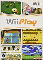 Wii Play Game For The Wii And Wii U Consoles Game Very Good 9Z