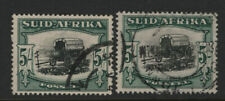 South Africa #31b used - 2 stamps