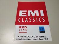 0120- EMI CLASSICS RED LINE CATALOGO GENERAL SEP/OCT 99 PAG 28 Nº2