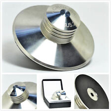 LP002 Stainless Steel 380g Record Weight LP Disc Stabilizer Turntable Clamp HiFi