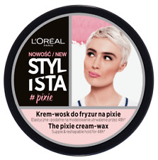 L'Oreal Stylista The Pixie Cream - Wax Supple & Reshapable 48H Hold 75ml