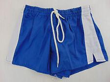 Vintage 80 GIESSE PADOVA Pantaloncini XS S Blu 1° Calcio Shorts Glanz Soccer