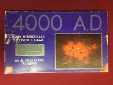 Vintage 1972 4000 A.D. INTERSTELLAR Board Game Waddingtons Space Conflict Game