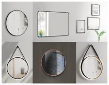 LED Wandspiegel mit Beleuchtung Spiegel rund TALOS Badspiegel Bad Dekospiegel