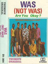 Was (Not Was) Are You Okay? IMPORT UAE CASSETTE ALBUM Thomsun Original EN 3694