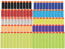 10 Colors 100x Refill Bullet Darts Nerf N-strike Elite Series Blasters Toy gun ^