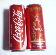 COCA COLA can MALAYSIA Tall 330ml Coke NEW YEAR Design 2016 Toss and Toast